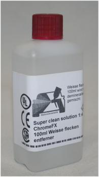 ChromeFX Super cleaner Solution 1:4 Weisse flecken entferner